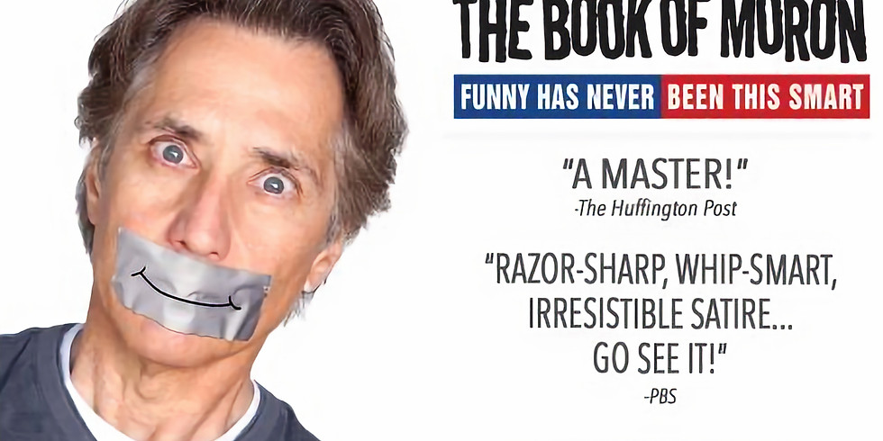 """Robert Dubac's """"The Book of Moron"""" July 9th"""