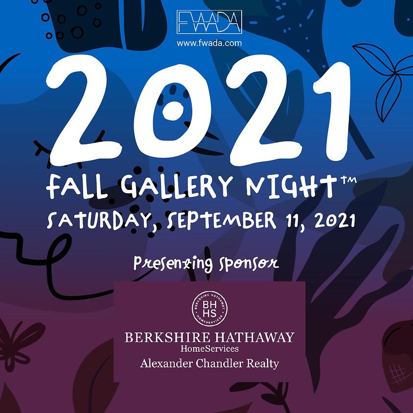 FWADA Fall Gallery night