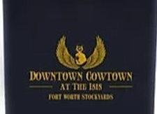 Downtown Cowtown Flask