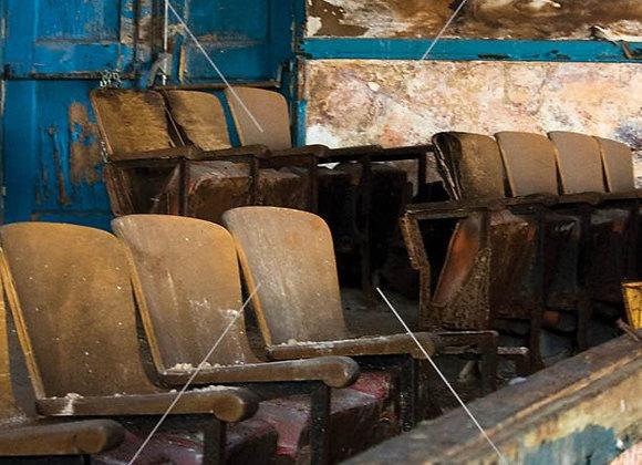 Segregated Seats Print