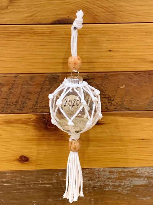 Macrame Beach Sand Ornament
