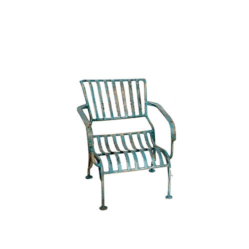 Original Mini Iron Painted Chair - Blue