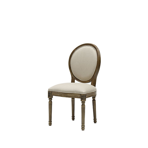 Louis Round Back Dining Chair