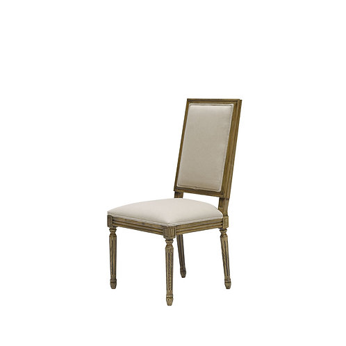 Louis Square Back Dining Chair