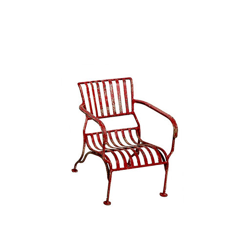 Original Mini Iron Painted Chair - Red