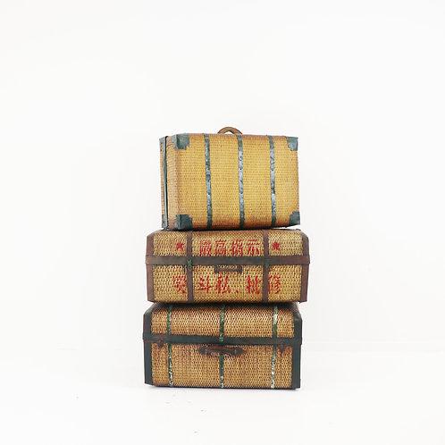 Original Woven Wooden Trunk