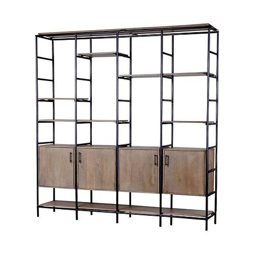 amuse | shoppeamuse | Mercana | Media | Storage | Shelf | Bookcase | Bookshelf