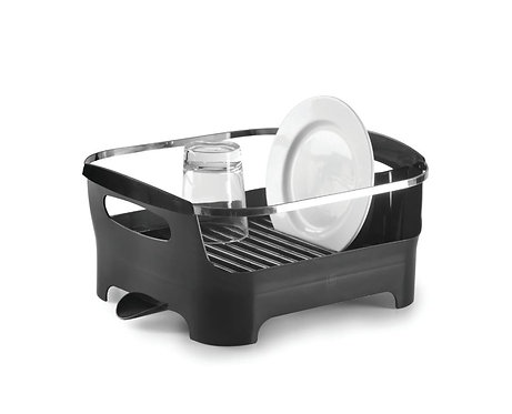 amuse l Shoppeamuse l Umbra Basin Dish Rack - Smoke