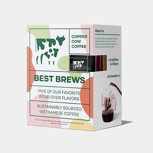 Copper Cow Coffee - Best Brew Latte Sampler