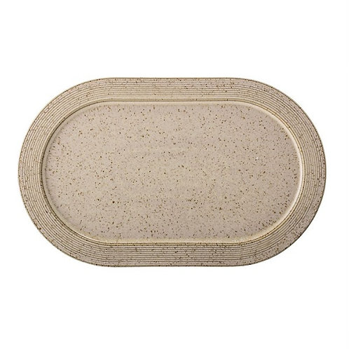 amuse l Shoppeamuse l Bloomingville Beige Speckled Small Plate