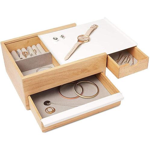 amuse | shoppeamuse | Umbra | Keepsake Storage Organizer | Hidden Compartment Drawers