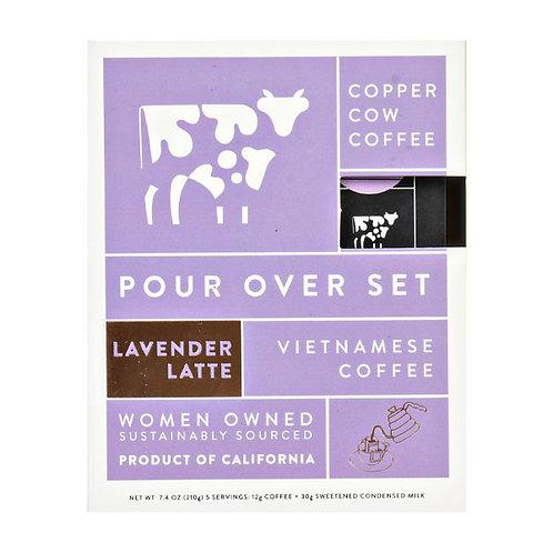 Copper Cow Coffee - Lavender Latte