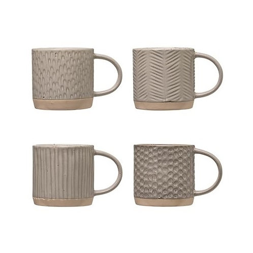 amuse l Shoppeamuse l Bloomingville Debossed Tableware 4 Style - Mug