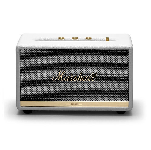 amuse l Shoppeamuse l Marshall Acton II Bluetooth Speaker White