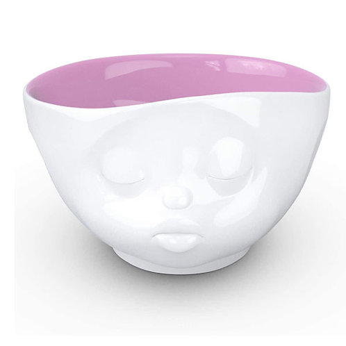 amuse | shoppeamuse | Tassen Large Porcelain Bowl, Kissing Face