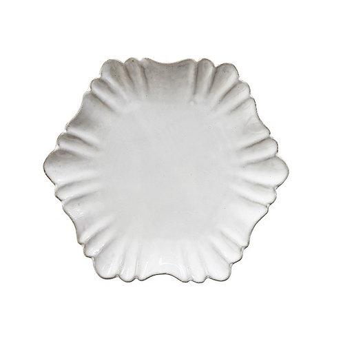 amuse l Shoppeamuse l Creative Co Op Terra Cotta Scallop Plate