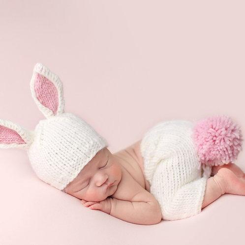 Bunny Knit Newborn Set