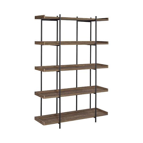 Best Modern Mid Century Bookcase in Aged Walnut