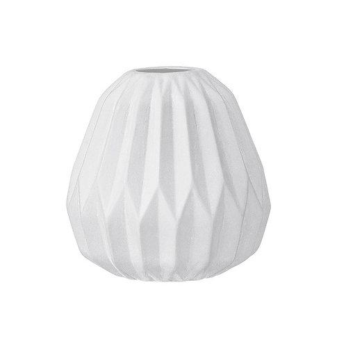 Stoneware Fluted Vase