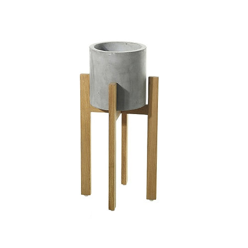 amuse l Shoppeamuse l Accent Decor Berlin Concrete Pot and Stand l Planter