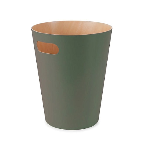 amuse l Shoppeamuse l Umbra Woodrow Trash Can Spruce Green