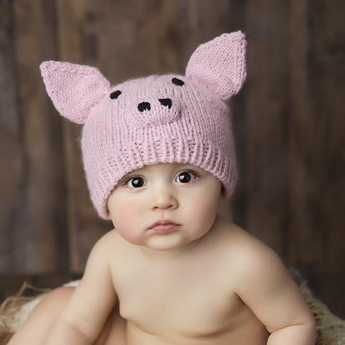 Pig Knit Hat