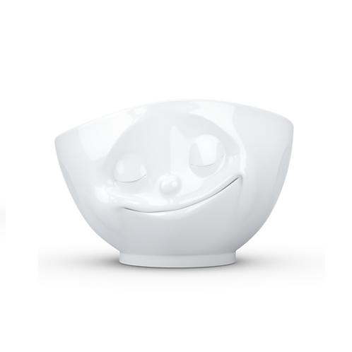 amuse | shoppeamuse | Tassen Large Porcelain Bowl, Happy Face
