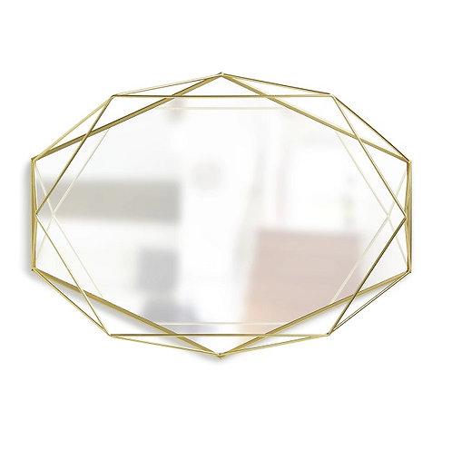 amuse l Shoppeamuse l Umbra Prisma Wall Mirror Gold