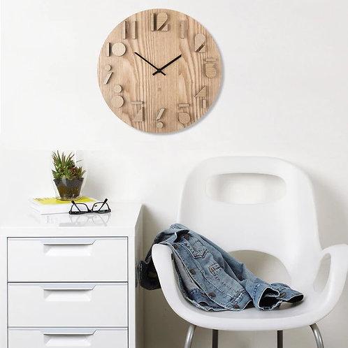 amsue l shoppeamuse l umbra shadow wall clock - natural