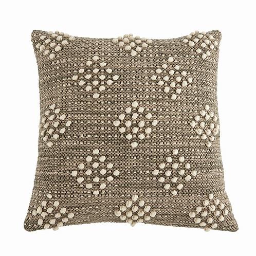 Amuse l Shoppeamuse l Mudpie Woven Diamond Pillow