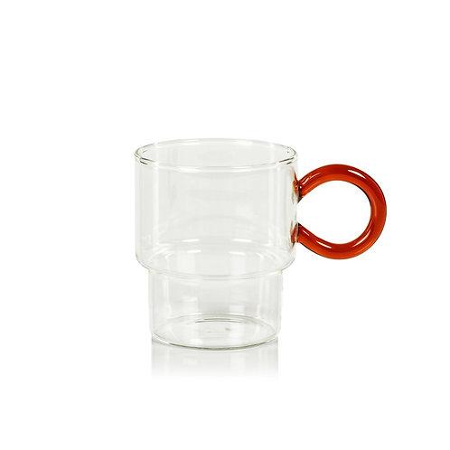 Battista Tea and Coffee glass