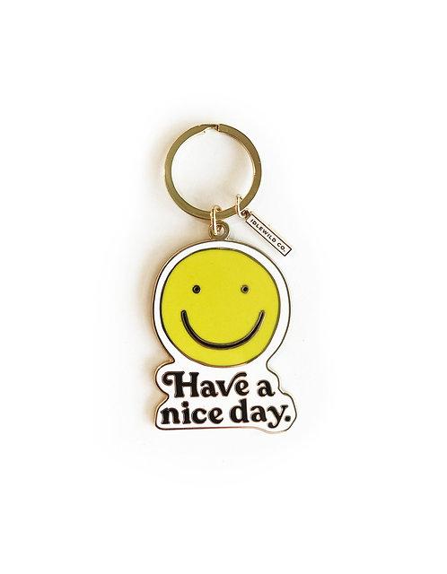 Smiley Keychain