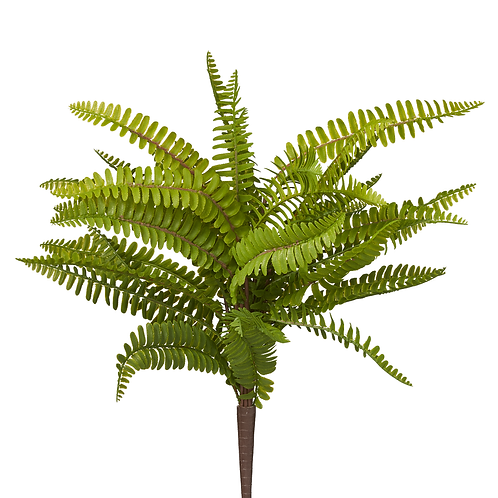 Artificial Faux Fern Bush