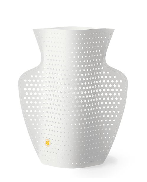 Paper Vase Cyano