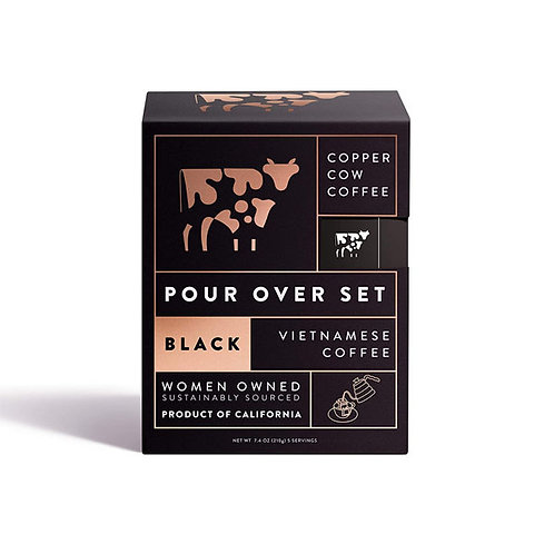 Copper Cow Coffee - Just Black