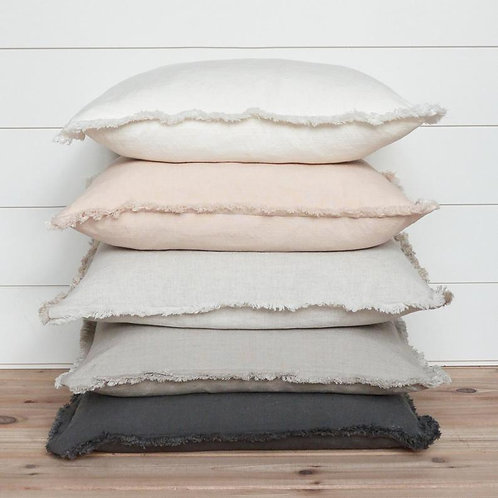 amuse l Shoppeamuse l Porter Lane Home Fringe Cotton Pillow