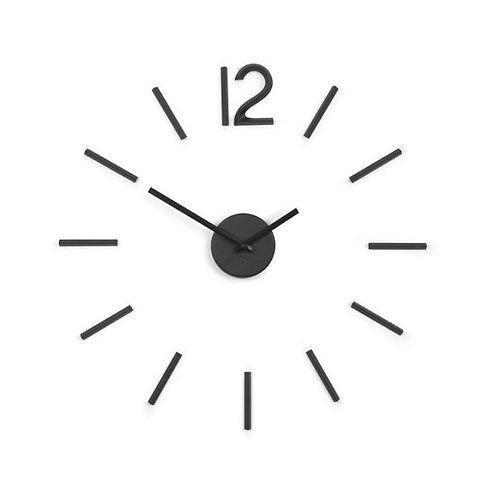 amuse l Shoppeamuse l Umbra Blink Wall Clock Black