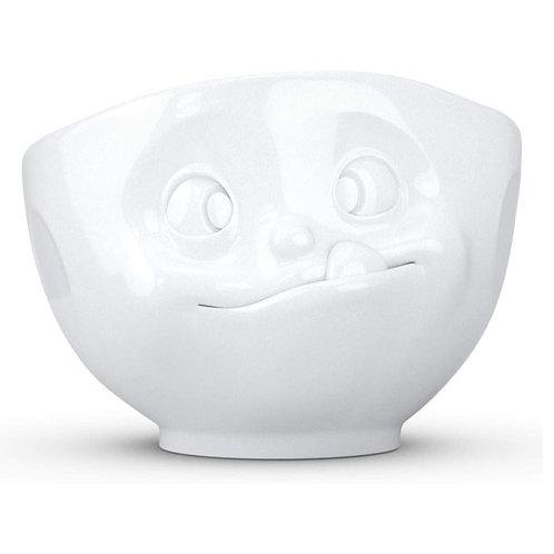 amuse | shoppeamuse | Tassen Large Porcelain Bowl, Tasty Face
