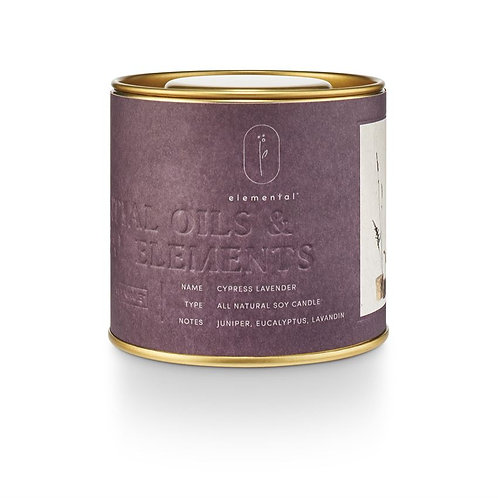 amuse l Shoppeamuse l Illume Natural Tin Candle Cypress Lavender