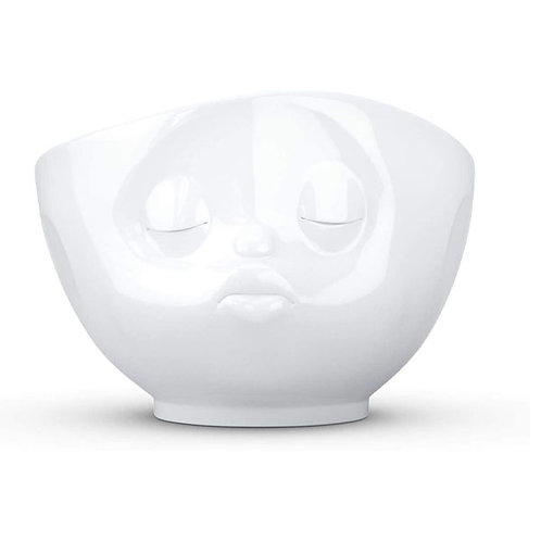 amuse | shoppeamuse | Tassen Large Porcelain Bowl, Kissing Face