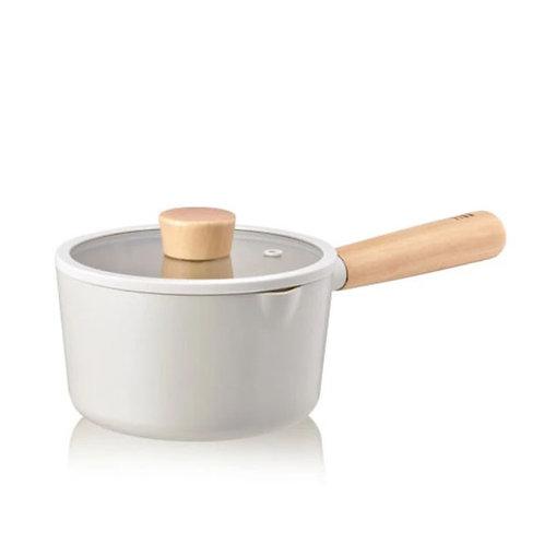 NEOFLAM FIKA IH Induction Ceramic Saucepan & Pot Dishwasher Safe