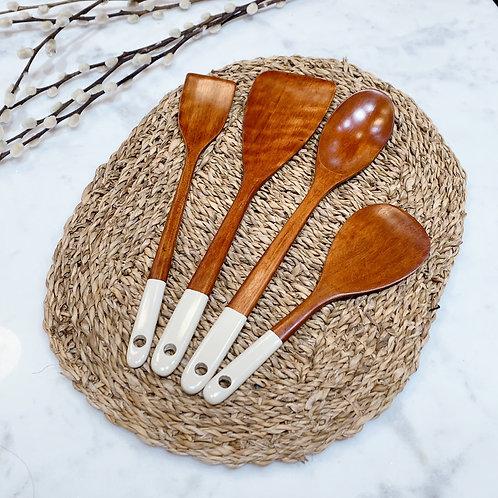 amuse | shoppeamuse | Cooking Spoon | Rice Paddle | Turner | Mini Turner