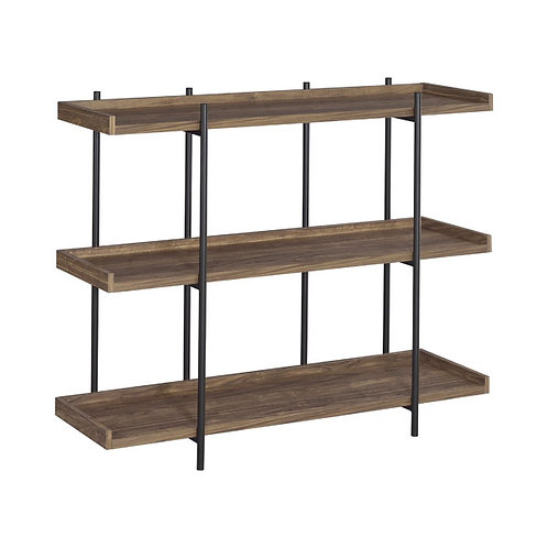 Best Modern Bookcase Aged Walnut
