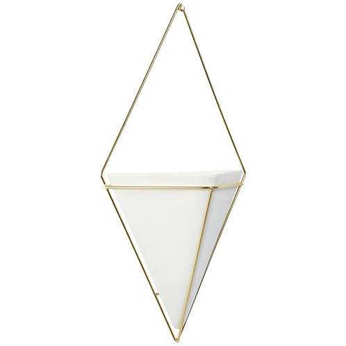 Trigg Hanging Planter Vase & Geometric Wall Decor Container