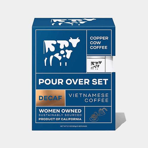 Copper Cow Coffee - Just Black Decaf