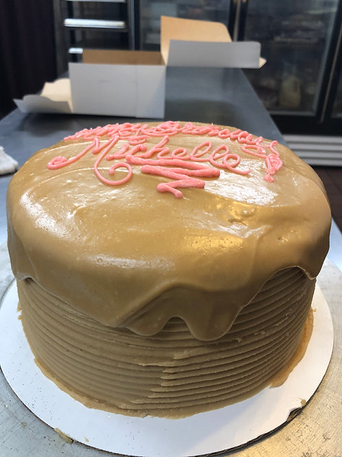 Buttery Caramel Four Layer