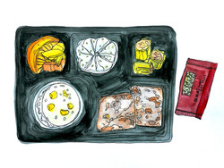 14 Days Quarantine Meal Drawing Project Day 4 Breakfast
