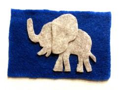 083.One CutOut Elephant.