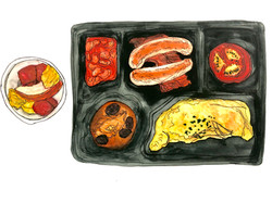 14 Days Quarantine Meal Drawing Project Day 7 Breakfast