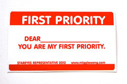 You Are My First Priority Tag